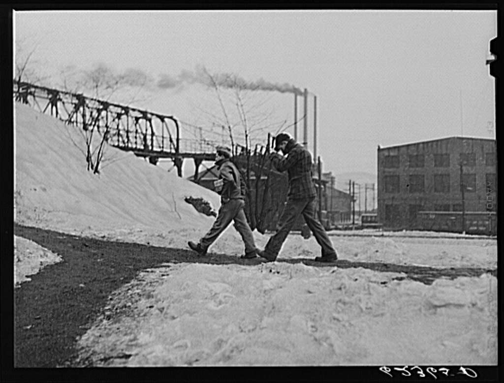 Railroad workers. Conway, Pennsylvania