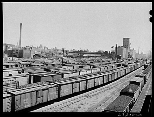 Railroad yards. Milwaukee, Wisconsin
