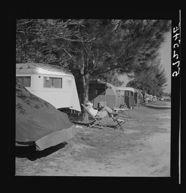 Sarasota trailer park, Sarasota, Florida