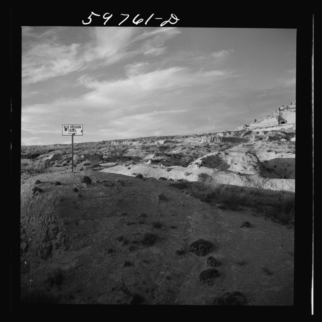 Scottsbluff and the old Oregon Trail, Nebraska