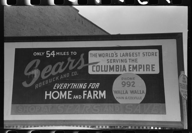 Sign in Hermiston, Oregon