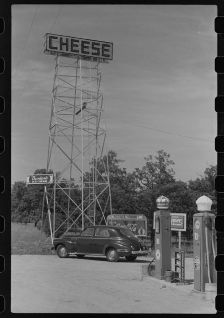 Signs on U.S. 41, Kenosha County, Wisconsin