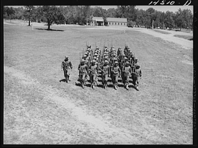 Soldiers at Fort Belvoir, Virginia