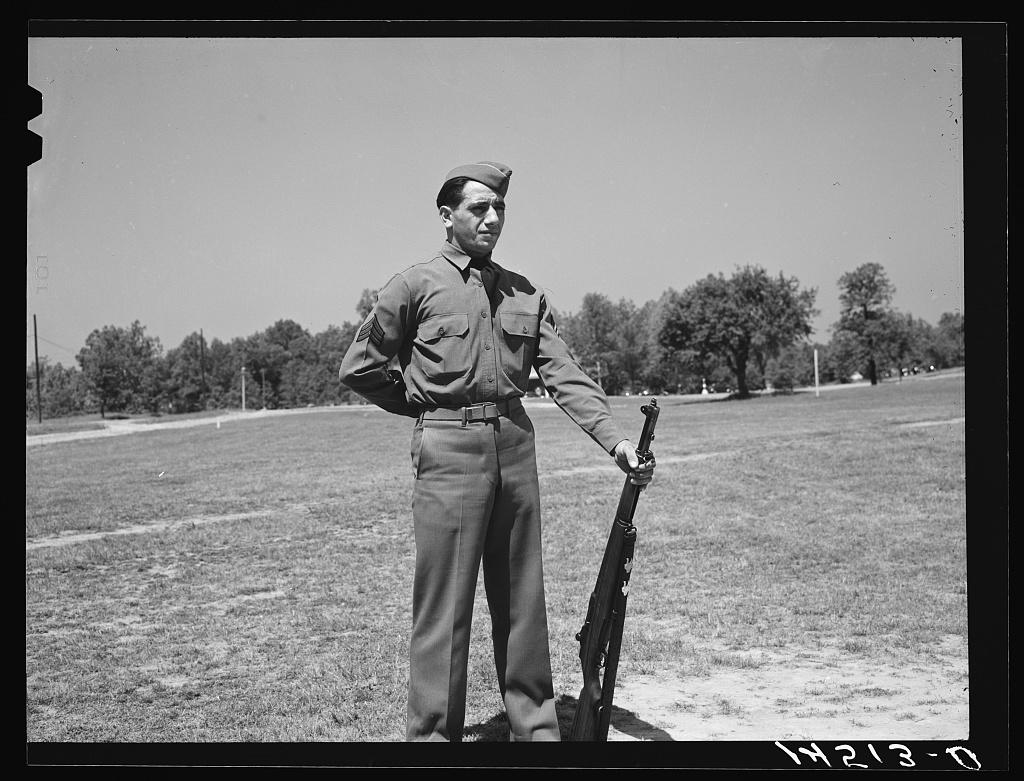 Soldiers at Fort Belvoir, Virginia
