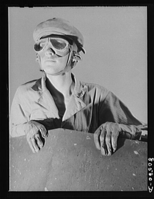 Tank driver. Fort Belvoir, Virginia