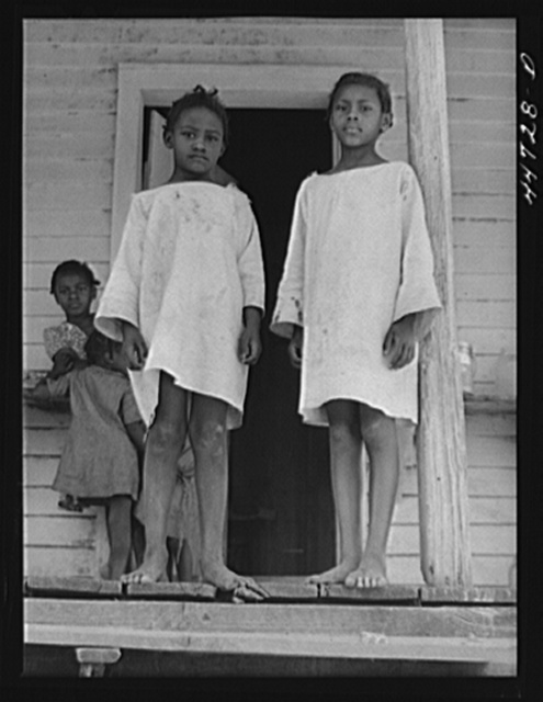 The children of Mr. Peter Champian, FSA (Farm Security Administration) borrower near White Plains, Greene County, Georgia