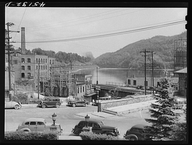 The Connecticut River in Brattleboro, Vermont