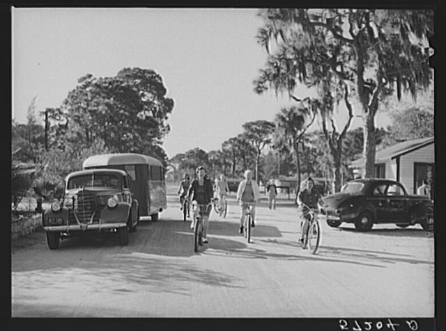 The cycle club of Sarasota trailer park. Sarasota, Florida