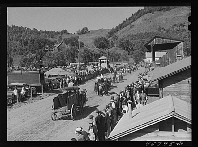 The parade at the World's Fair at Tunbridge, Vermont