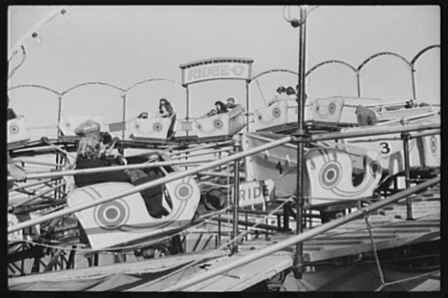 """The """"Ridee-o"""" at the Rutland Fair, Vermont"""