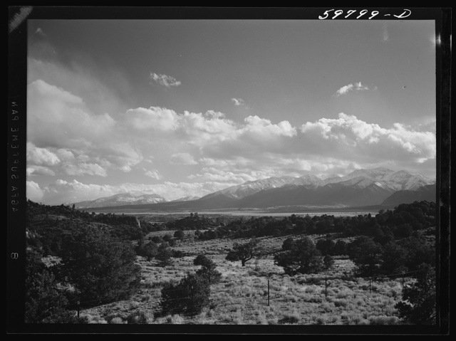 The Sawatch Mountains, near Buena Vista, Colorado