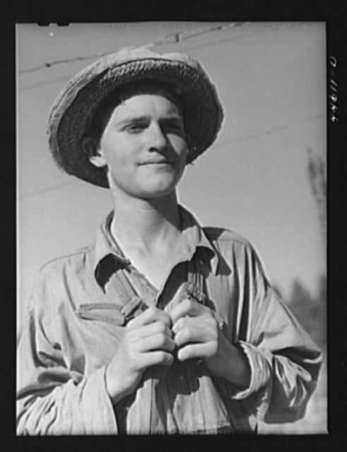 The son of Mr. E. A. Marcus, FSA (Farm Security Administration) borrower. Greene County, Georgia