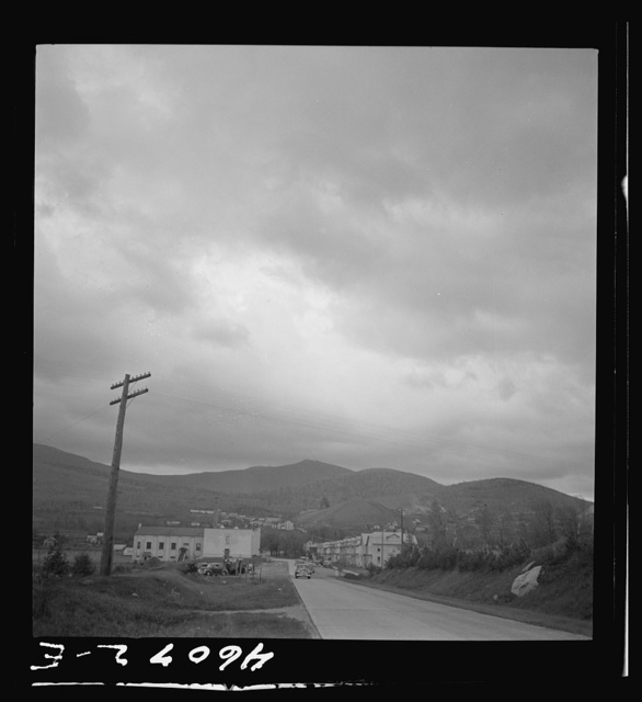 The town of Lyon Mountain, New York