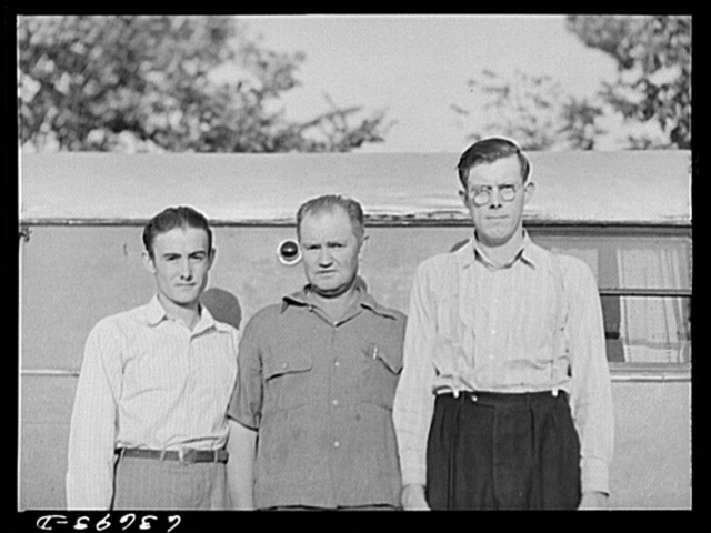 Three defense workers from Flint, Michigan, now living in Edgewater Park and working in the Ford bomber plant near Ypsilanti, Michigan