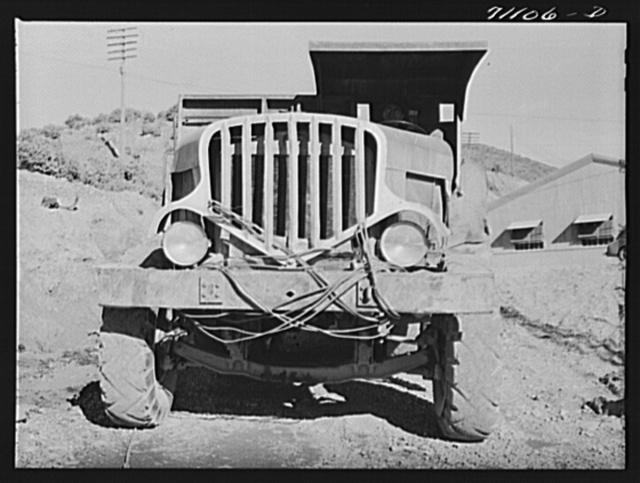 Truck. Shasta Dam, Shasta County, California