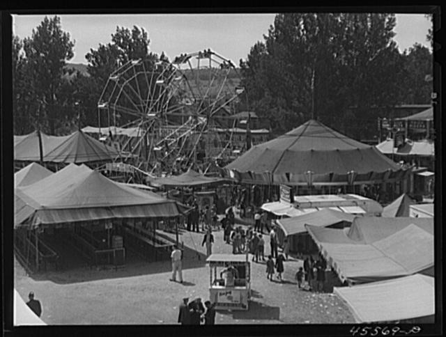 View of the Rutland Fair, Vermont