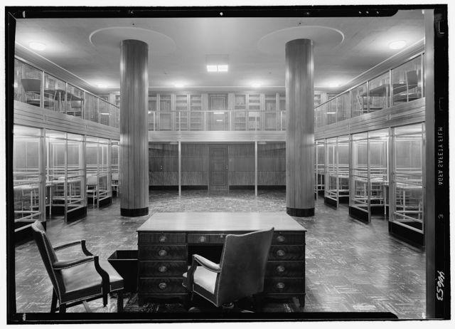 Virginia State Library & Courthouse, Richmond, Virginia. Rare book room