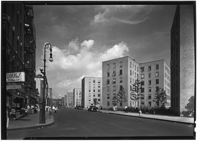 Vladeck Houses, Madison St., New York City. View II