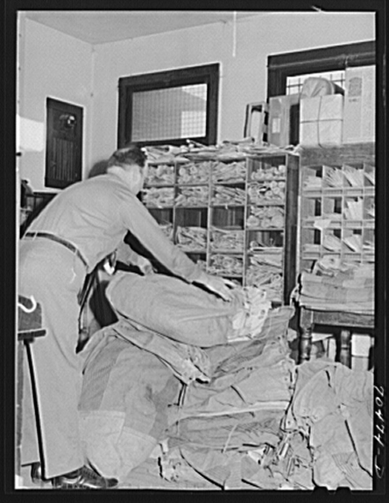 When the defense boom started, the post office at Hermiston, Oregon employed three people; post office now employs sixteen