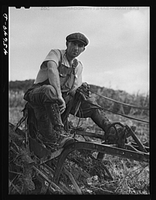 William Gaynor, FSA (Farm Security Administration) dairy farmer near Fairfield, Vermont