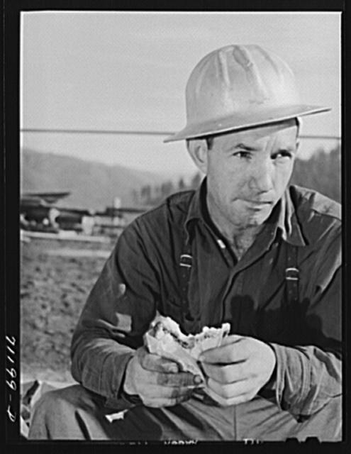 Workman. Shasta Dam, Shasta County, California