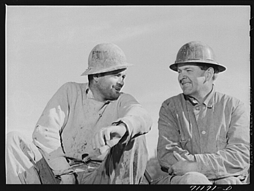 Workmen. Shasta Dam, Shasta County, California
