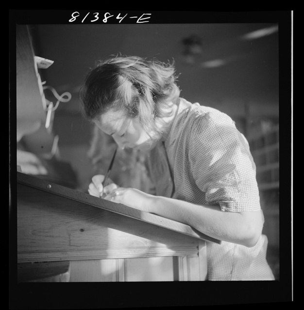 """Writing cards home to the """"folks."""" Mohawk Trail, Massachusetts"""