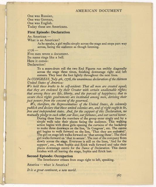 American Document