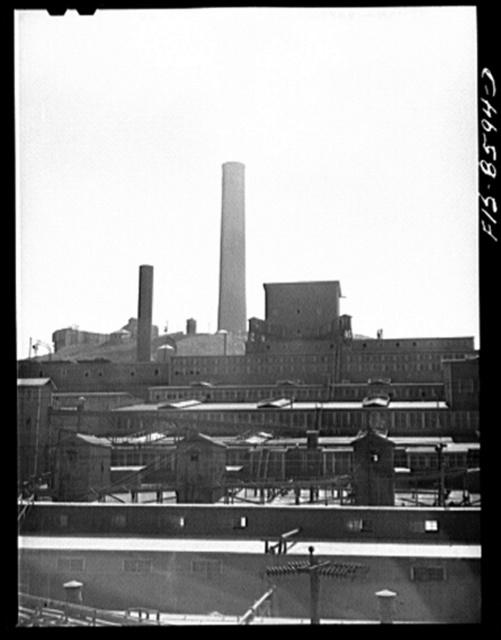 Anaconda smelter, Montana. Anaconda Copper Mining Company. Concentrator