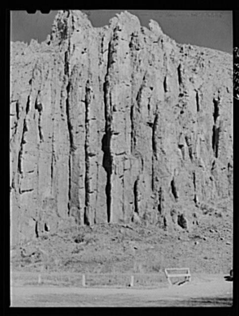 Beaverhead County, Montana. Rock formation along U.S. highway number ninety-one