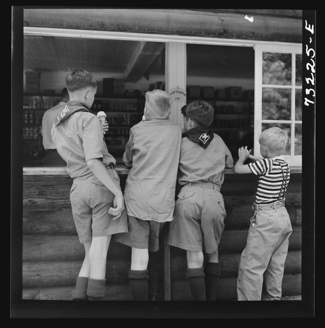 Belknap Springs, Oregon. Boy Scouts