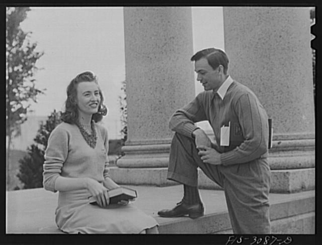 Bob Aden and his wife, Marion, University of Nebraska, Lincoln