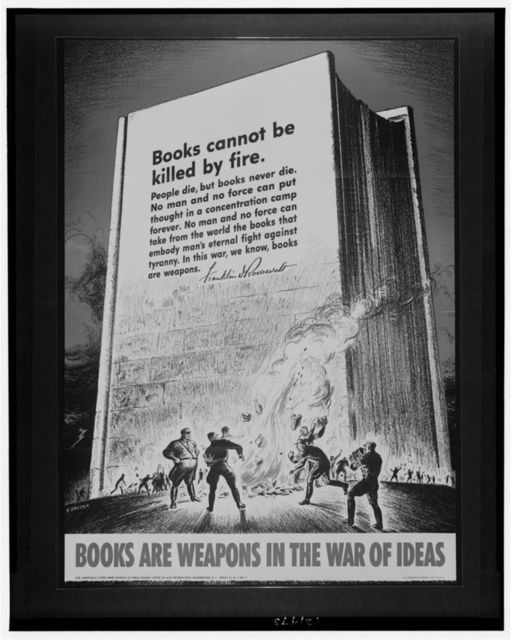 Books are weapons in the war of ideas / S. Broder.