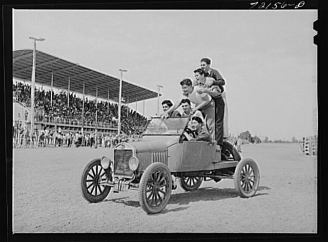 Boys. Imperial County Fair, California