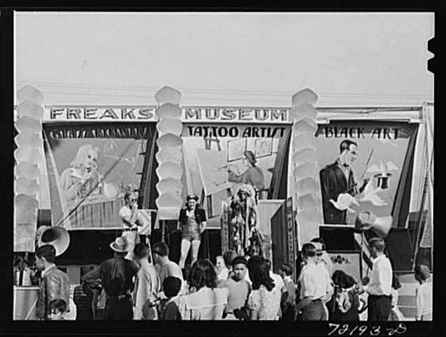 Carnival attraction at the Imperial County Fair, California