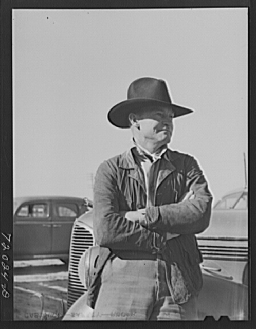 Cattleman. Imperial County, California