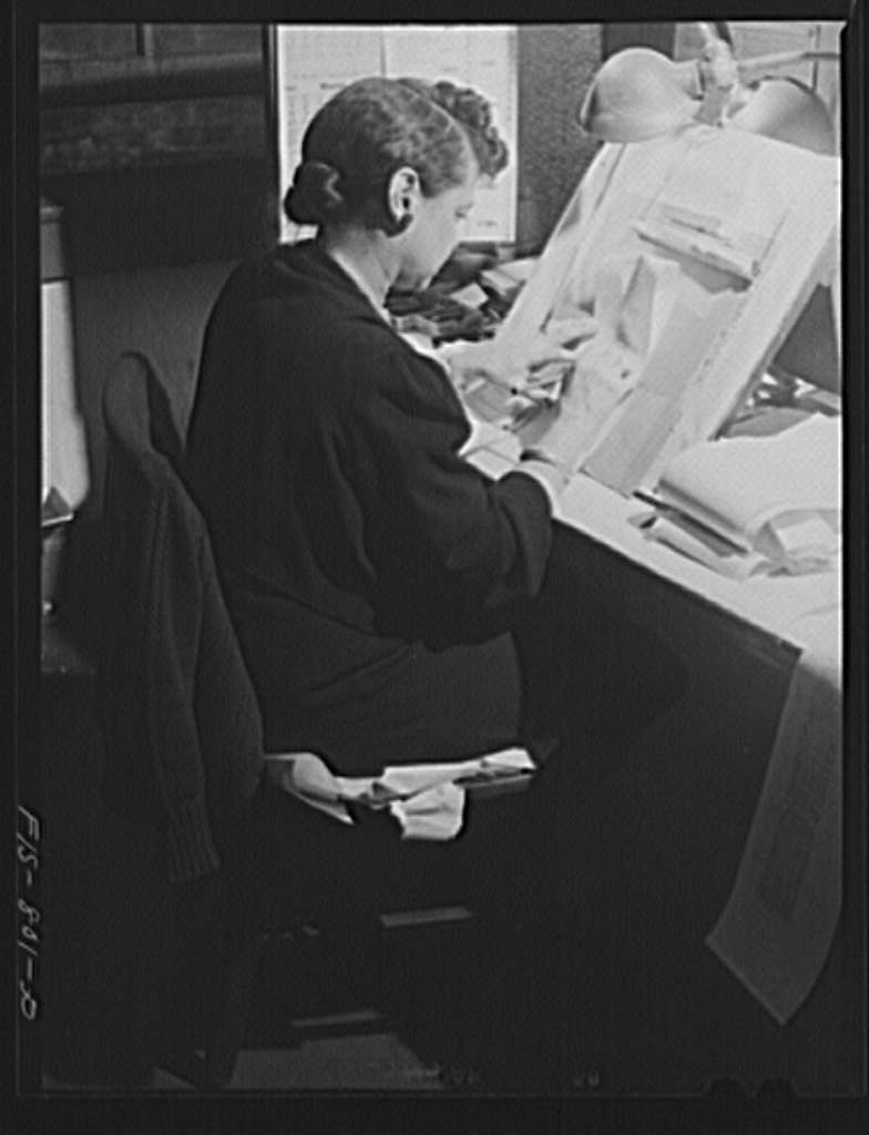 Chicago, Illinois. Copy reader of the Chicago Defender, one of the leading Negro newspapers