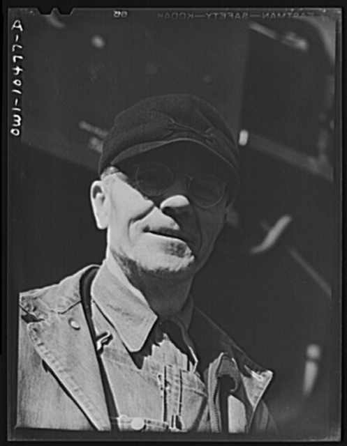 Chicago, Illinois. E. A. Morgan of Harvey, Illinois., freight conductor on the Illinois Central railroads