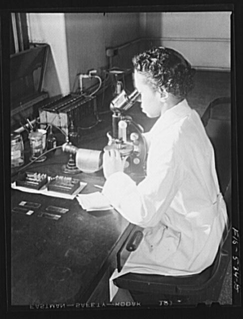 Chicago, Illinois. Provident Hospital. Laboratory technician