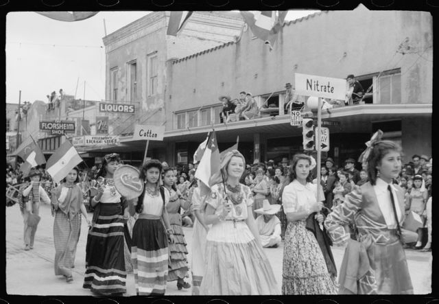 Children's parade, Charro Days, Brownsville, Texas