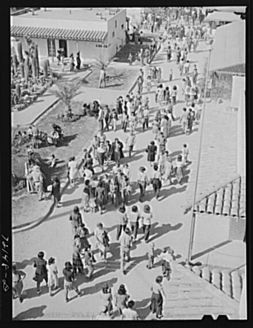 Crowd at the Imperial County Fair, California