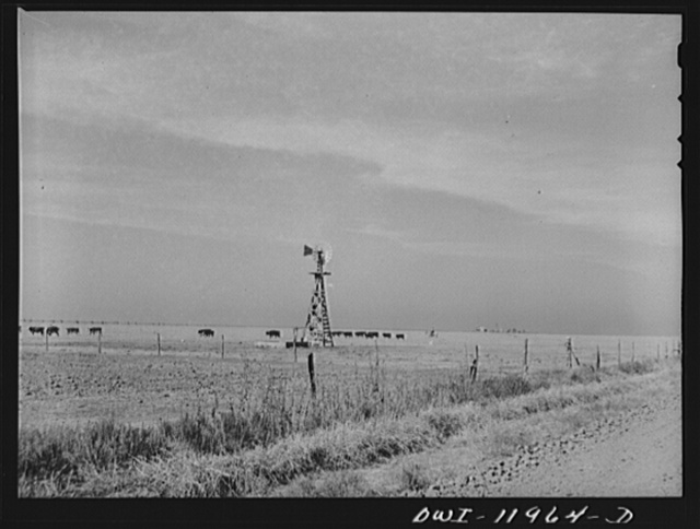 Deaf Smith County, Texas. Panhandle landscape