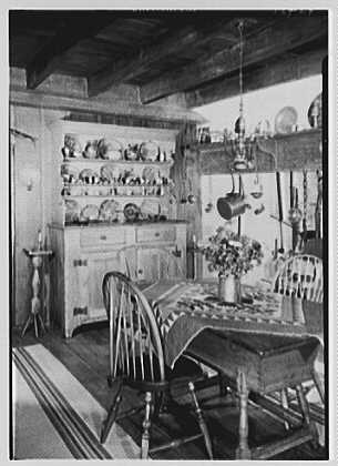 "Dr. A.S. Barnes, ""Ker-Feal"", residence in Chester Springs, Pennsylvania. Dining room, vertical"