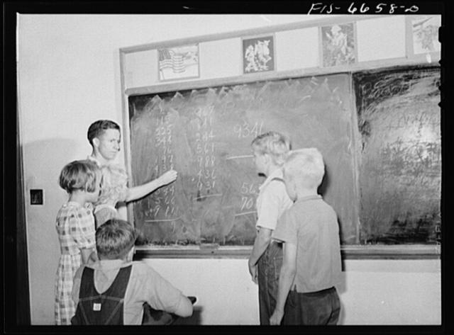 Dunklin County, Missouri. Rural school