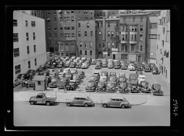 Effect of gasoline shortage in Washington, D.C.