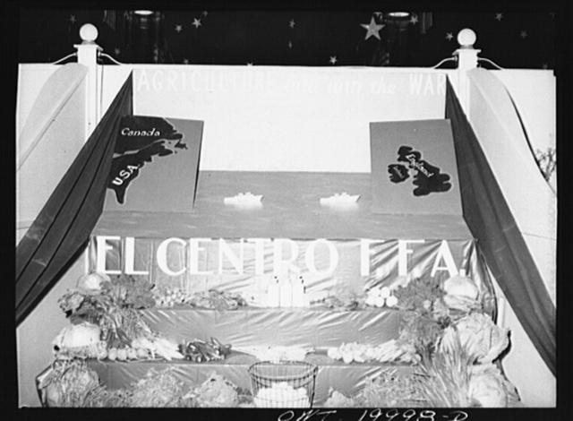 El Centro, California. Display at the Imperial County Fair