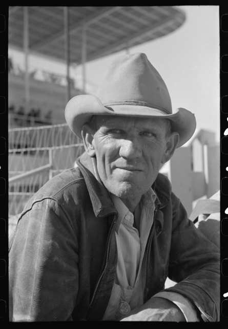 El Centro (vicinity), California. Cattleman at the Imperial County Fair