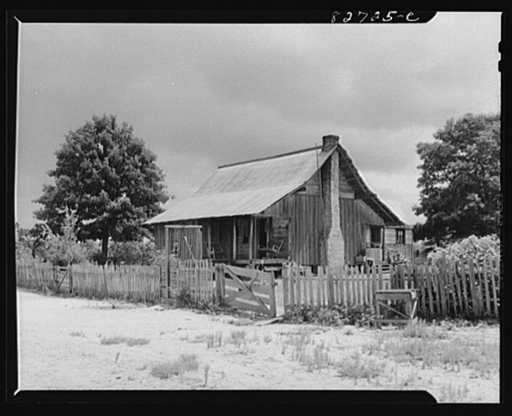 Escambia Farms, Florida. (vicinity) Farmstead in the backwoods