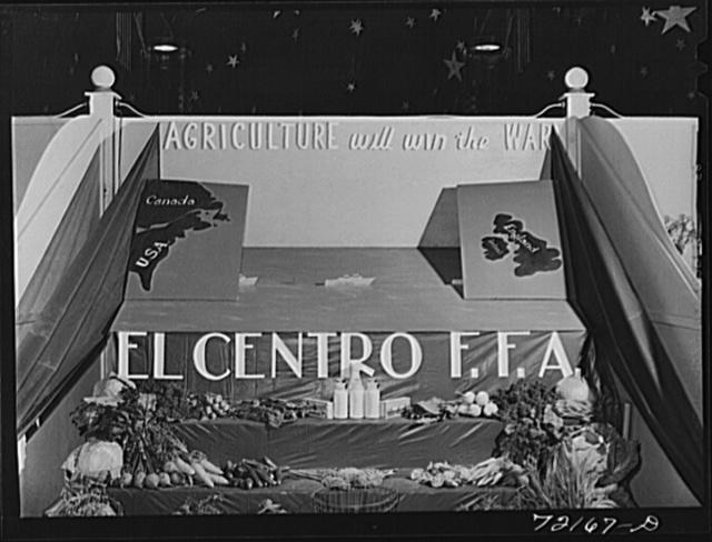 Exhibit at the Imperial County Fair, California