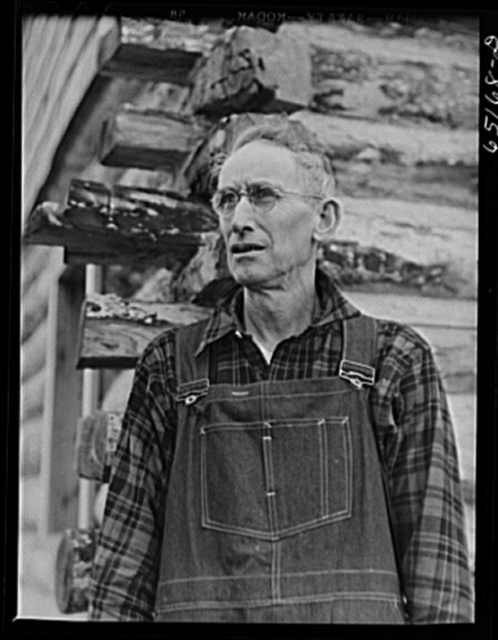 Flathead Valley special area project, Montana. Delbert Comstock, FSA (Farm Security Administration) borrower